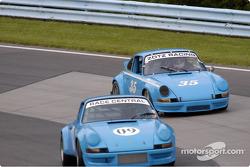 #09-72 Porsche 911 and # 35 70 Porsche 911
