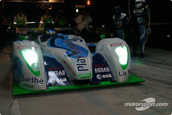 #17 Pescarolo Sport Pescarolo Judd gets back under way