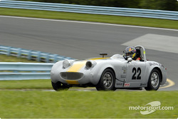 Brenda Johnson in a Austin Healey 1965