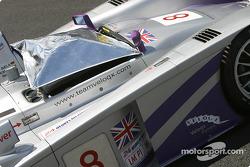 #8 Audi Sport UK Team Veloqx Audi R8 on pre-grid