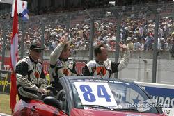Drivers presentation: Tony Burgess, Philip Collin, Andrew Bagnall