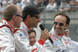 Drivers presentation: JJ Lehto, Emanuele Pirro, Marco Werner