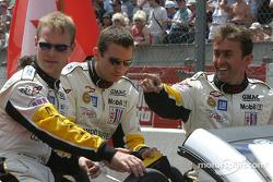 Drivers presentation: Jan Magnussen, Olivier Gavin, Oliver Beretta