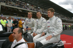 Drivers presentation: Johnny Herbert, Jamie Davies, Guy Smith