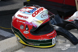 Helmet of Max Papis