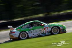#67 The Racers Group Porsche 911 GT3 RS: Pierre Ehret, Jim Matthews