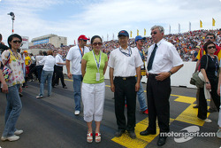 China race representatives Tian Shu Shi and Maggie Ip
