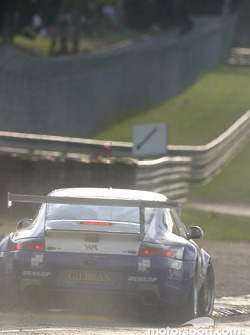 #75 Thierry Perrier Porsche 911 GT3 RS: Ian Khan, Nigel Smith, Tim Sugden goes wide