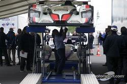 #5 Audi Sport Japan Team Goh Audi R8 at scrutineering
