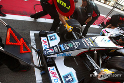 Pitstop practice at Minardi