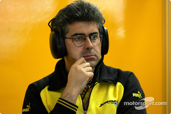 Jordan head of aerodynamics Nicolo Petrucci