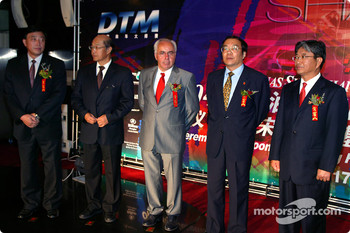 DTM Gala in Oriental Pearl Tower: presentations
