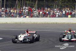 Takuma Sato and Mark Webber