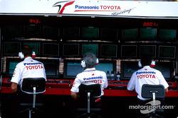 Toyota Racing pitwall