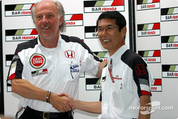 BAR-Honda press conference: David Richards