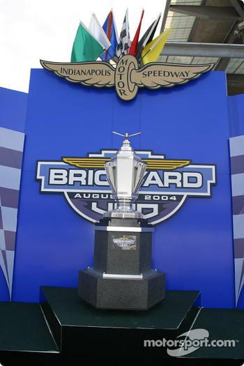 Brickyard 400 trophy