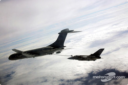 A Tornado being refueled by a VC10