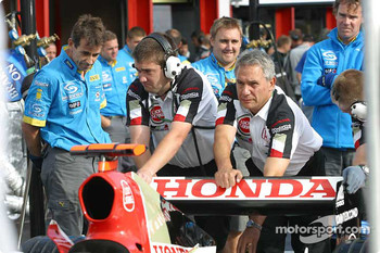 BAR-Honda team members