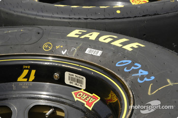 How many labels can a tire have?
