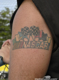 Dedicated NASCAR fan