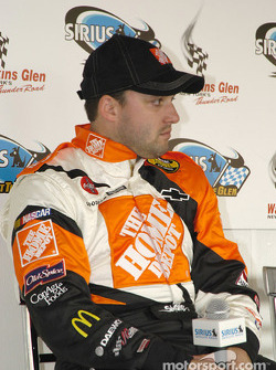Tony Stewart during the press conference