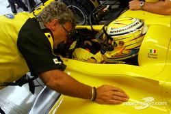 Eddie Jordan and Giorgio Pantano