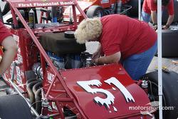 Russ Gamester's car is tweaked