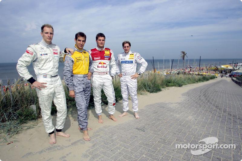 Charles Zwolsman (F3 Euroserie), Jeroen Bleekemolen, Martin Tomczyk and Christijan Albers