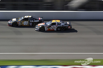 Tony Stewart and Joe Nemechek