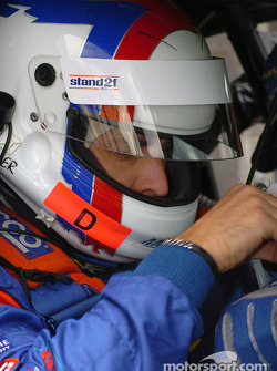 Frenchman Yvan Muller was one of several international drivers at Sandown