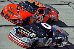 Ward Burton and Robby Gordon