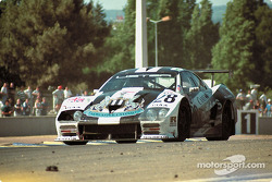 #28 Newcastle United Listed Lister Storm GTL Jag: Geoff Lees, Tiff Needell, Anthony Reid