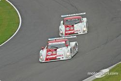 #01 CGR Grand Am Lexus Riley: Scott Pruett, Max Papis, #02 CGR Grand Am Lexus Riley: Jimmy Morales, Luis Diaz