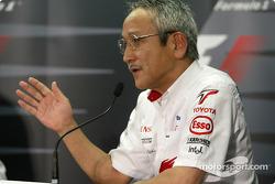 Friday FIA press conference: Toyota team principal Tsutomu Tomita
