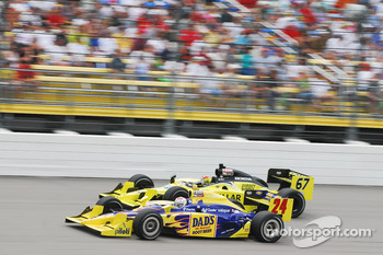 Graham Rahal, Dreyer and Reinbold Racing passes Sarah Fisher, Sarah Fisher Racing