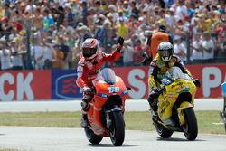 Nicky Hayden, Ducati Marlboro Team and Hector Barbera, Paginas Amarillas Aspar
