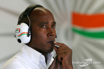 Anthony Hamilton, father of Lewis Hamilton, McLaren Mercedes
