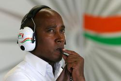 Anthony Hamilton, father of Lewis Hamilton, McLaren Mercedes