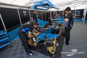Ocean Racing Technology mechanics at work