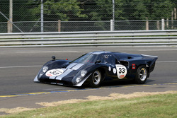 #33 Lola T70 1970: Richard Mille, Yvan Mahe