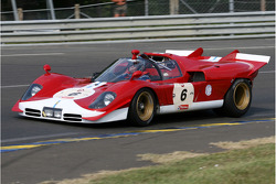 #6 Ferrari 512 S 1970: Carlos Monteverde, Gary Pearson, Thomas Erdos