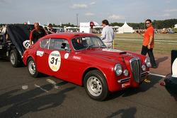 #31 Lancia Aurelia B20 1956: Michel Peccenini, Isabelle Jonville Charoy
