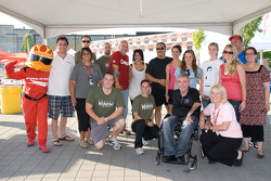 Sponsors for the Run Walk 'n' Wheel a Thon for Spinal Cure Research
