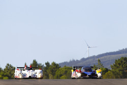 #48 Hope Polevision Racing Formula Le Mans - Oreca 09: Christophe Pillon, Vincent Capillaire, Nico Verdonck, #4 Team Oreca Matmut Peugeot 908 HDi FAP: Oliver Panis, Nicolas Lapierre, Stéphane Sarrazin