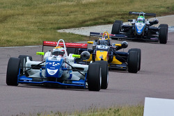 James Calado leads Jean-Eric Vergne and Willaim Buller