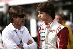 Esteban Gutierrez talks to Adrian Fernandez