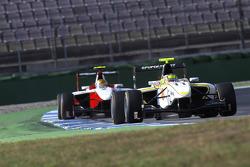 Renger Van Der Zande leads Esteban Gutierrez