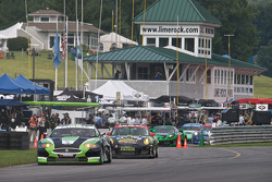 #75 Jaguar RSR Jaguar XKRS: Ryan Dalziel, Marc Goossens