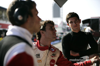 Alexander Rossi and Pedro Nunes
