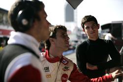Alexander Rossi and Pedro Nunes